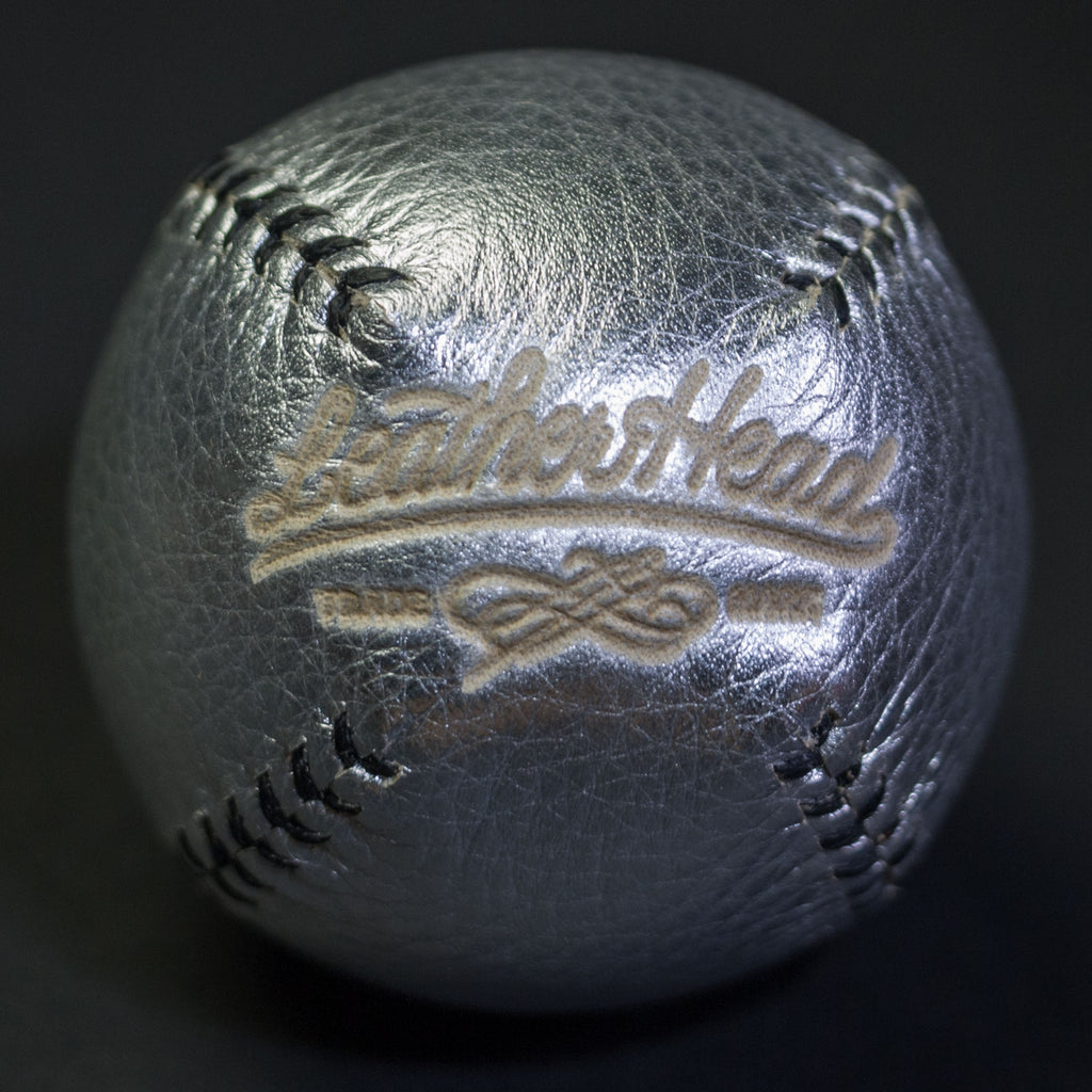 Leather Head Sports Lemon Ball Silver at The Lodge
