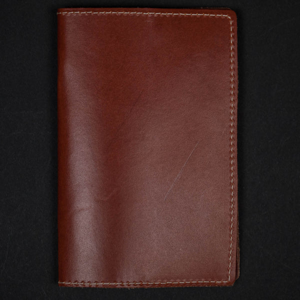 Cognac Leather Field Notes & Passport Holder at The Lodge