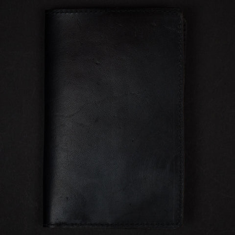 THE LODGE JET LEATHER NOTEBOOK & PASSPORT HOLDER - THE LODGE  - 1