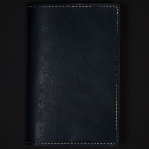 NAVY LEATHER FIELD NOTES & PASSPORT HOLDER - THE LODGE  - 1