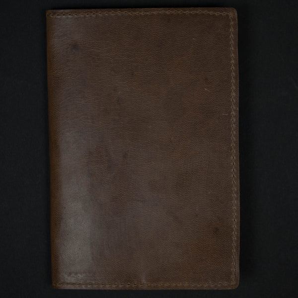 WHISKEY LEATHER FIELD NOTES & PASSPORT HOLDER - THE LODGE  - 1