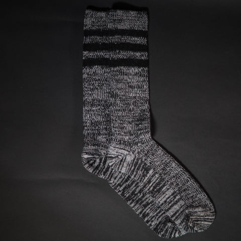 The Lodge Black Topanga Wool Men's Boot Socks