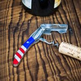 LONE STAR WAITER'S KNIFE RED/WHITE/BLUE - THE LODGE  - 3