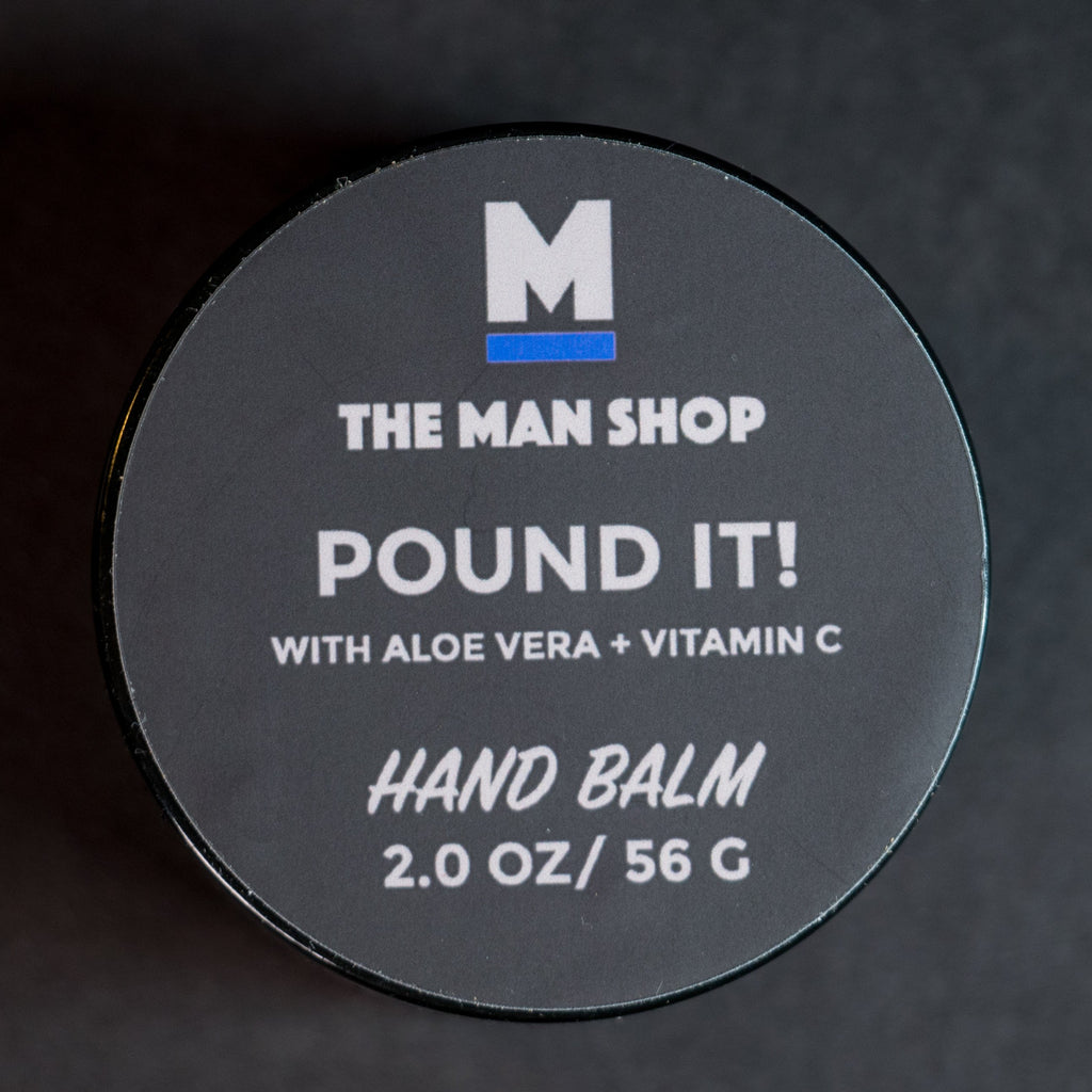The Man Shop Pound It! Hand Balm at The Lodge