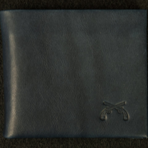 MAXX & UNICORN SOFT LEATHER BILLFOLD INDIGO - THE LODGE  - 1