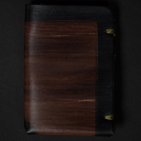 MCGRAW CARD WALLET WHISKEY LEATHER - THE LODGE  - 1