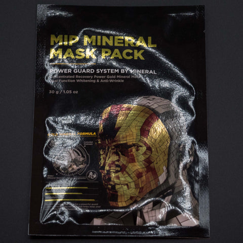 MIP Project Gold Sheet Mask at The Lodge