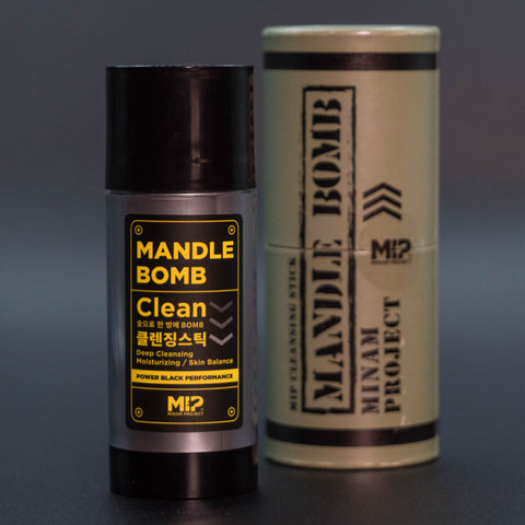 MIP Project Mandle Bomb Charcoal Face Cleanser at The Lodge