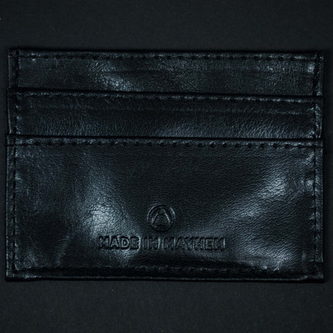 NERO CARR SLIM CARD WALLET SOFT LEATHER - THE LODGE  - 1