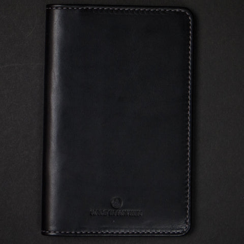 Made in Mayhem Clark Travel Leather Wallet Black at The Lodge