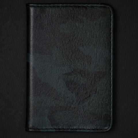 Made in Mayhem Washington Leather Wallet Camouflage at The Lodge