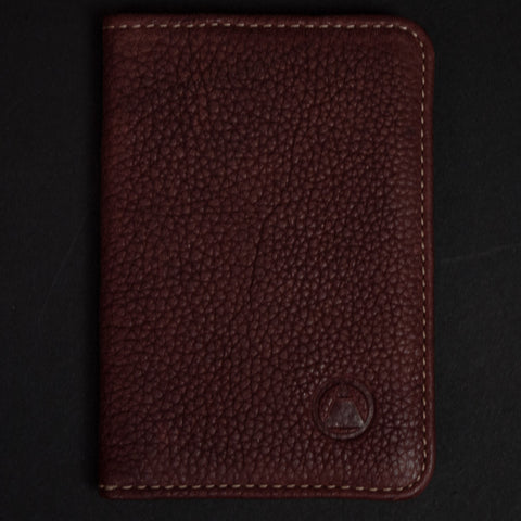 Made in Mayhem Washington Leather Bi-Fold Wallet Rust at The Lodge