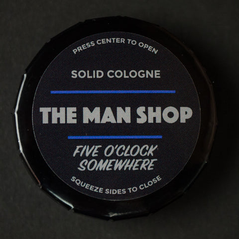 The Man Shop Five O'Clock Somewhere Solid Cologne at The Lodge