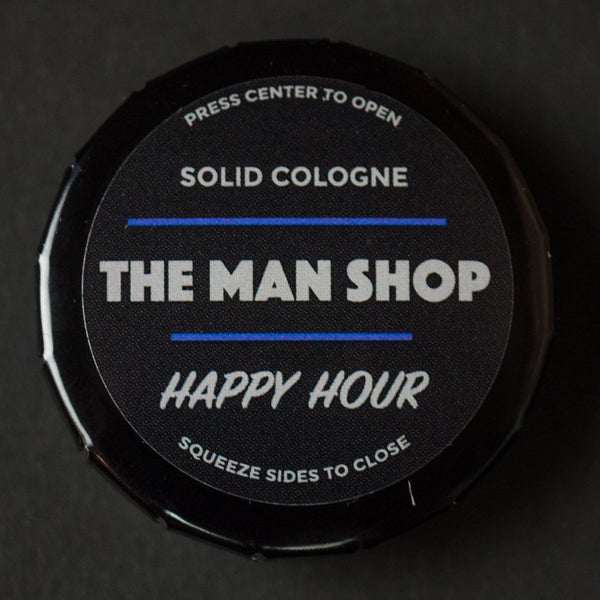 The Man Shop Happy Hour Solid Cologne at The Lodge