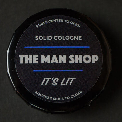 The Man Shop It's Lit Solid Cologne at The Lodge