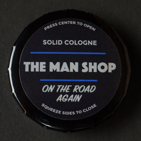 The Man Shop On The Road Again Solid Cologne at The Lodge