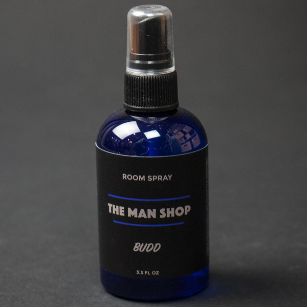 The Man Shop Budd Cannabis Room Spray at The Lodge