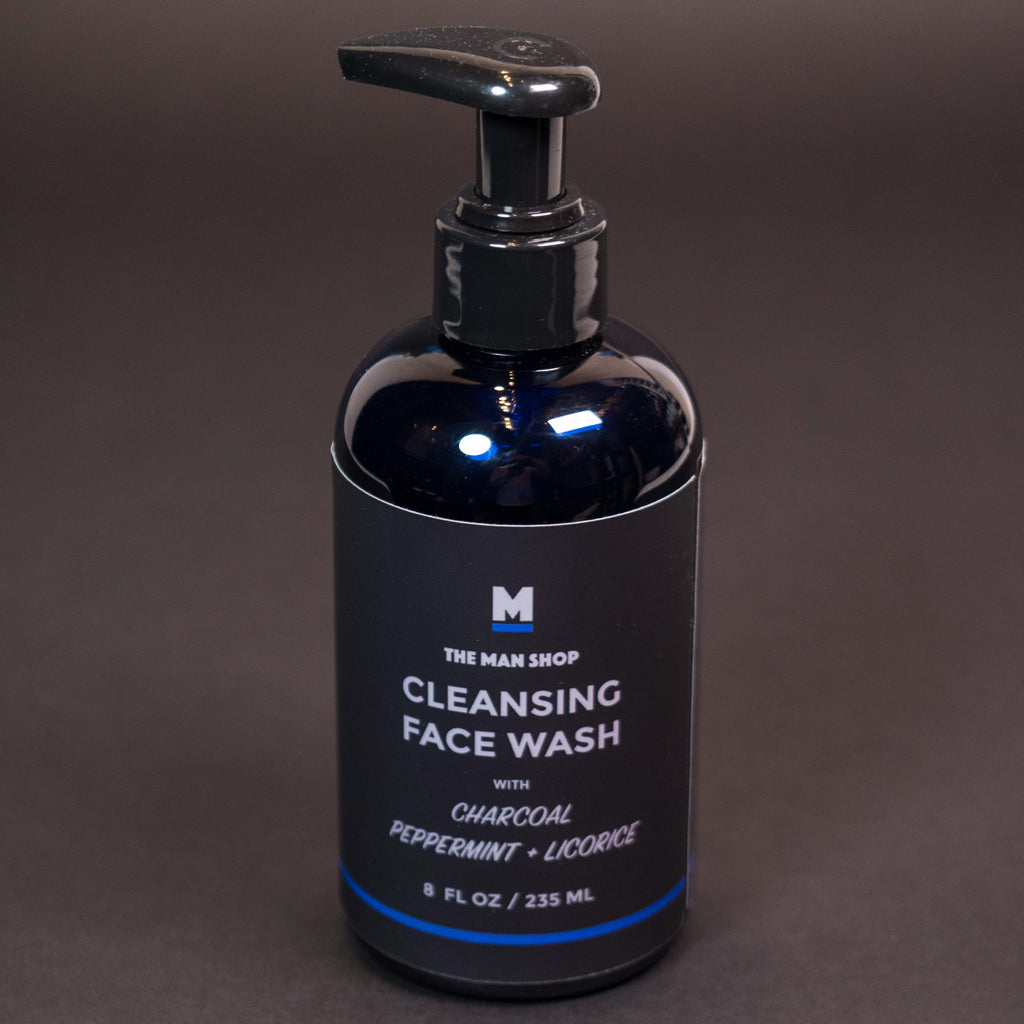 CHARCOAL CLEANSING FACE WASH THE MAN SHOP