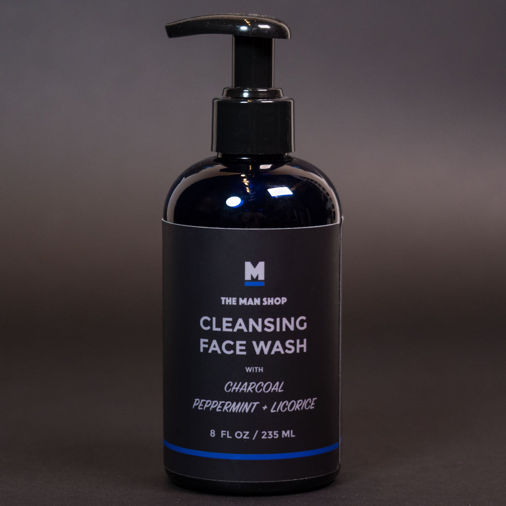 The Man Shop Charcoal Cleansing Face Wash at The Lodge