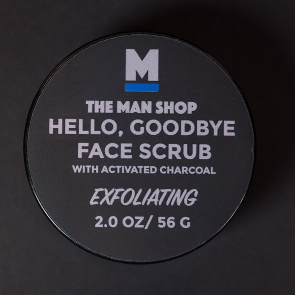 The Man Shop Hello, Goodbye Charcoal Face Scrub at The Lodge