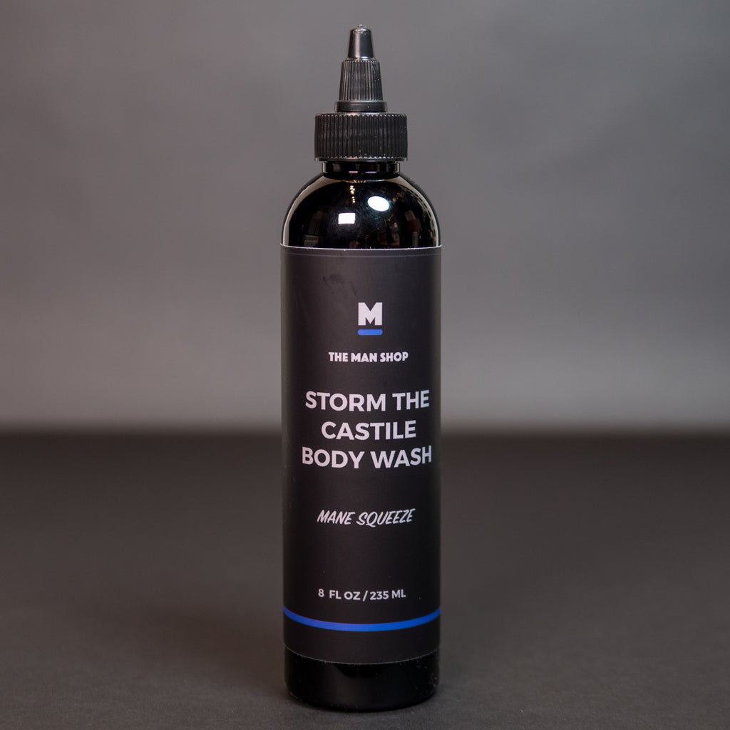 The Man Shop Storm the Castile Body Wash at The Lodge