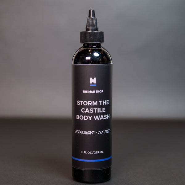 The Man Shop Storm the Castile Body Wash Peppermint + Tea Tree at The Lodge