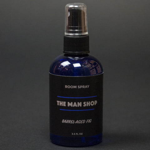 The Man Shop Barrel-Aged Fig Room Spray at The Lodge