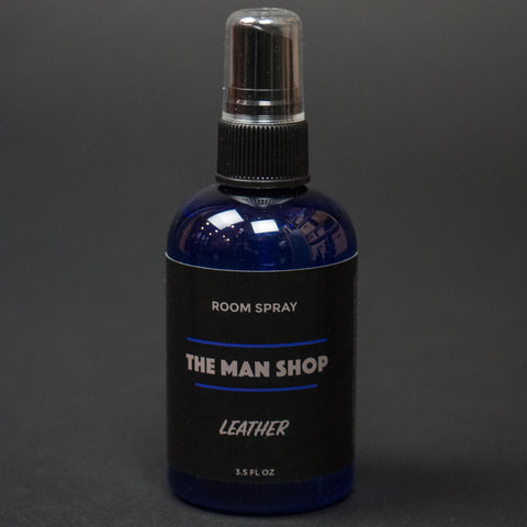 The Man Shop Leather Room Spray at The Lodge