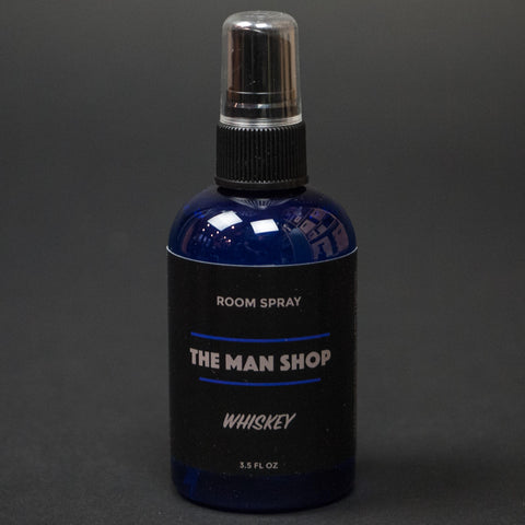 The Man Shop Room Spray Whiskey at The Lodge