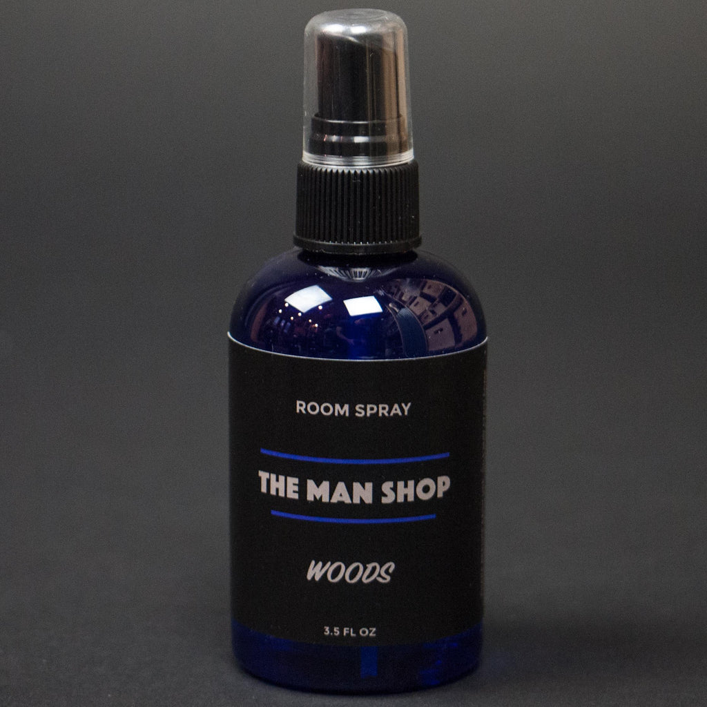 The Man Shop Woods Room Spray at The Lodge