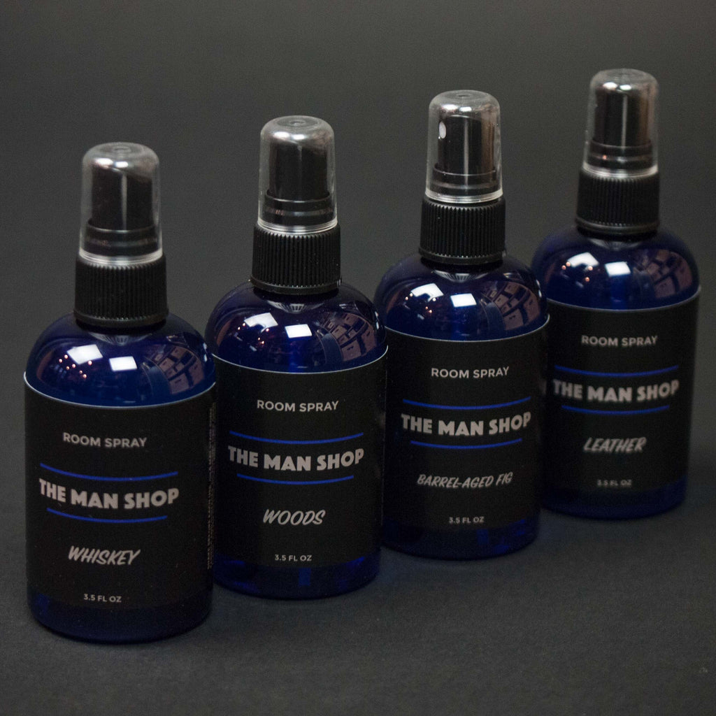 WHISKEY ROOM SPRAY THE MAN SHOP