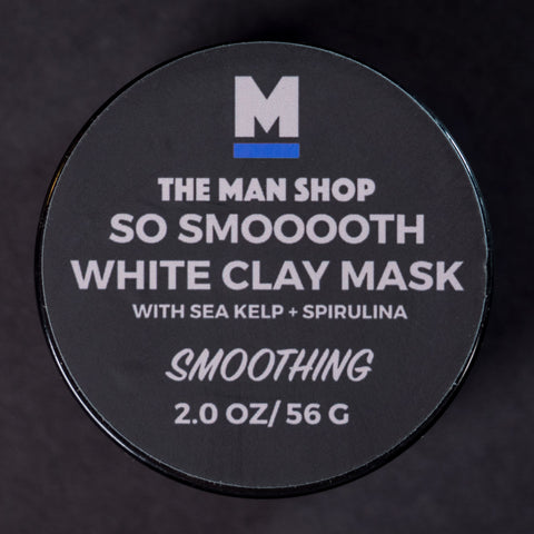 The Man Shop So Smooooth White Clay Mask at The Lodge