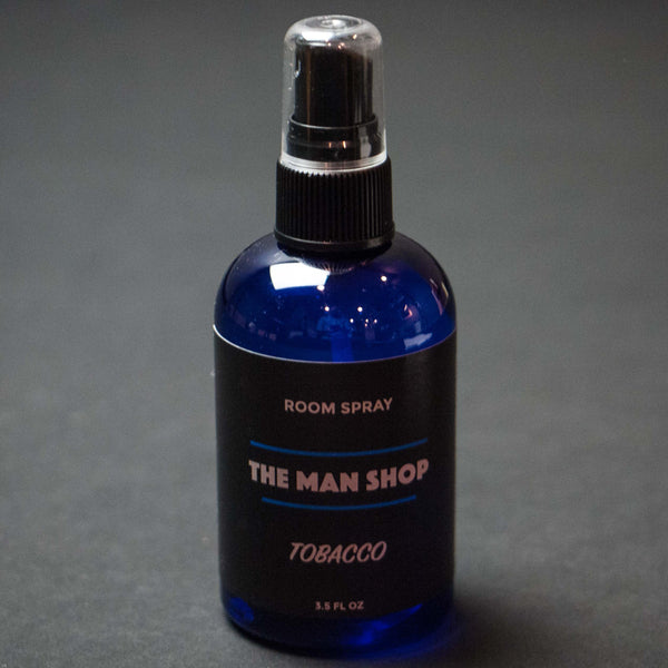 The Man Shop Tobacco Room Spray at The Lodge