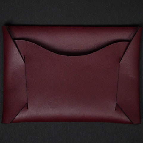 Maxx & Unicorn Card Sleeve Oxblood at The Lodge