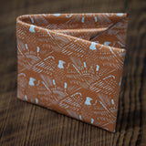 EAGLE LEATHER BILLFOLD TAN- LIMITED EDITION - THE LODGE  - 9