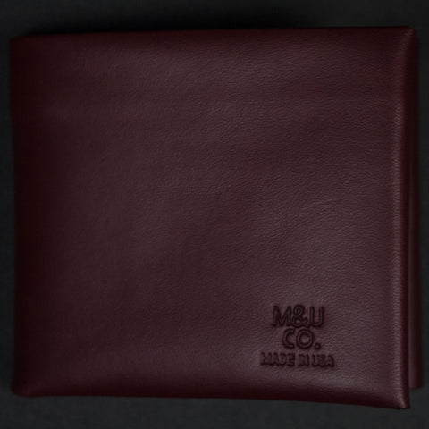 Maxx & Unicorn Bridle Leather Billfold Wallet Oxblood at The Lodge