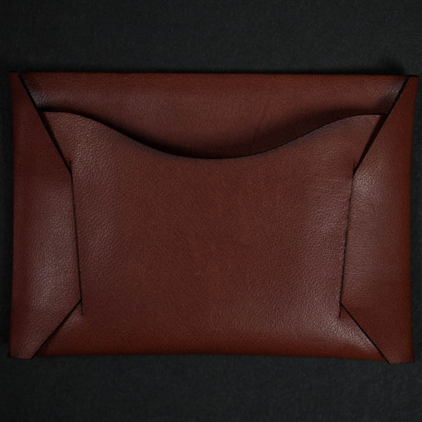 Maxx & Unicorn Bridle Leather Card Wallet Oak at The Lodge
