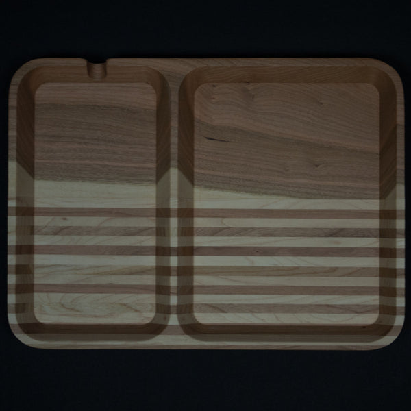 CHERRY MULTI STRIPE WOOD VALET - THE LODGE  - 1