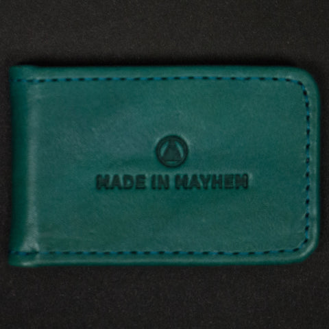 TEAL HAMILTON MONEY CLIP - THE LODGE  - 1