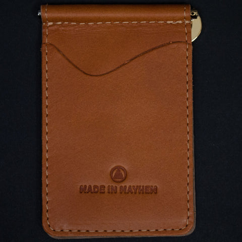 SADDLE MADISON MONEY CLIP WALLET - THE LODGE  - 1