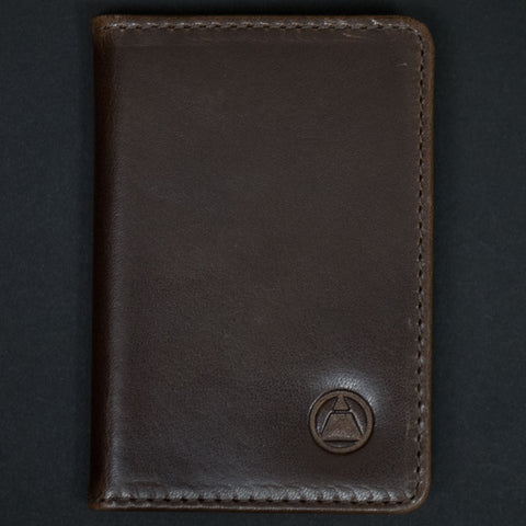 WASHINGTON BROWN LEATHER BI-FOLD WALLET - THE LODGE  - 1