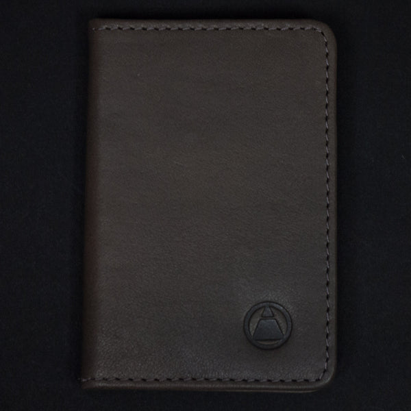 WASHINGTON GREY LEATHER BI-FOLD WALLET - THE LODGE  - 1