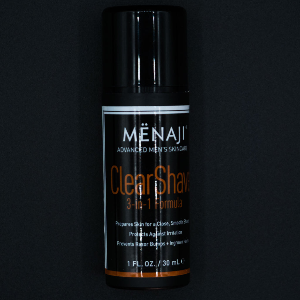 Menaji Clear Shave Gel at The Lodge