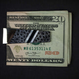 GREY BRAIN CORAL STAINLESS STEEL MONEY CLIP