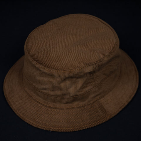 Corduroy Bucket Hat Rust- Made in the USA