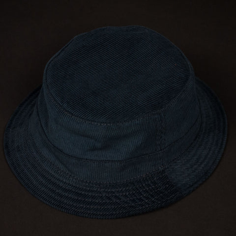 Navy Corduroy Bucket Hat at The Lodge