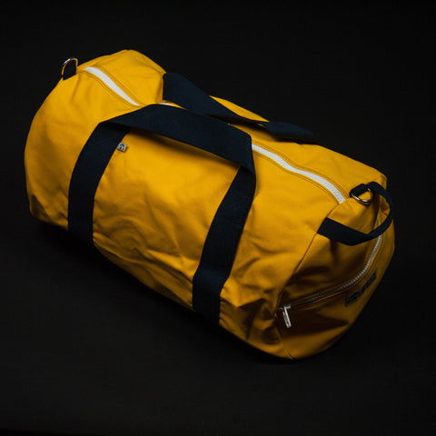 Hudson Sutler Oahu Commuter Duffle Bag Yellow at The Lodge