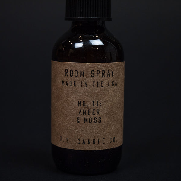 PF Candle Company Amber & Moss Room Spray at The Lodge