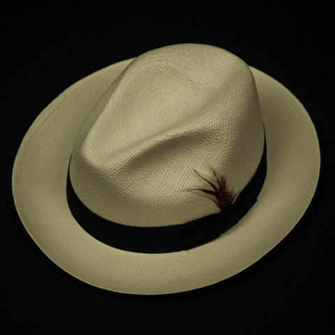 PANAMA FEDORA NATURAL - THE LODGE  - 1