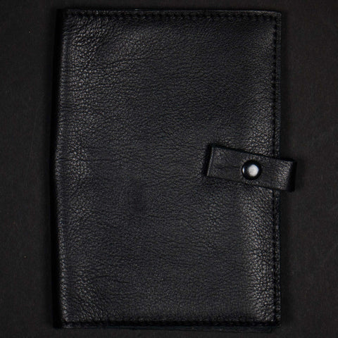 LEATHER BACK WRITER BLACK - THE LODGE  - 1